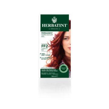 Herbatint FF2 fashion karmazsin vörös hajfesték