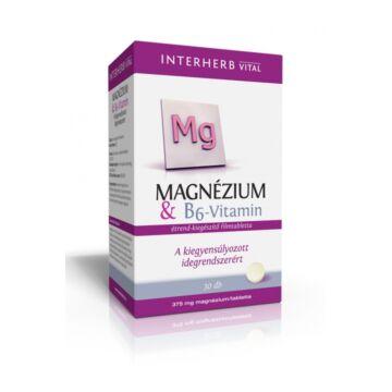 Interherb vital magnézium+B6-vitamin tabletta 30db