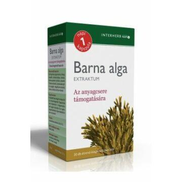 Interherb napi 1 barna alga kapszula 30db