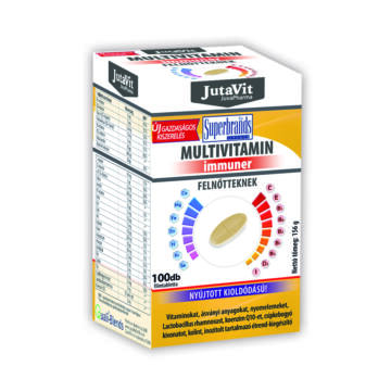 Jutavit multivitamin immuner tabletta felnőtteknek 100db