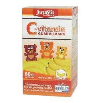 JutaVit C-vitamin Gumivitamin 60 db
