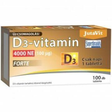 JUTAVIT D3-VITAMIN FORTE 4000 NE TABLETTA 100 DB