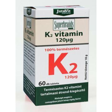 Jutavit K2-vitamin tabletta 60db