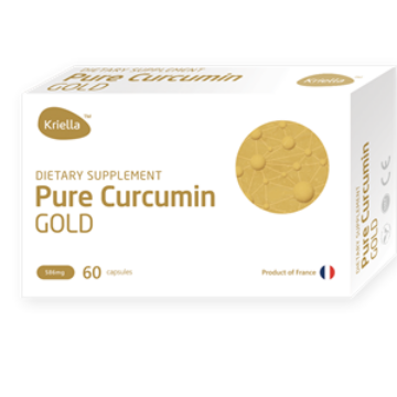 Kriella Pure Curcumin Gold 60 db