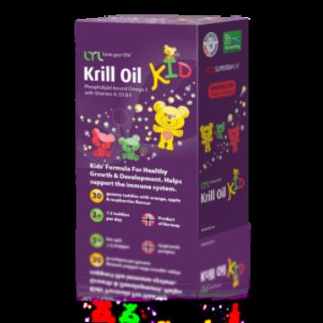 Lyl Gumimacik krill olajjal gyerekeknek 30 db