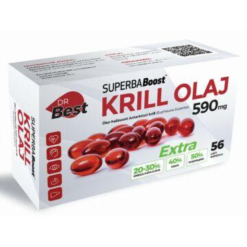 Dr. Best Krill olaj 590mg 56 db