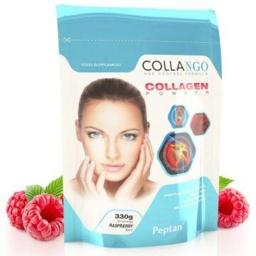 Collango Kollagén por málna ízű 330 g