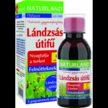 Naturland lándzsás útifű szirup+C-vitamin 150ml