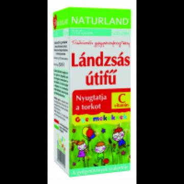 Naturland lándzsás útifű szirup+C-vitamin gyerek 150ml
