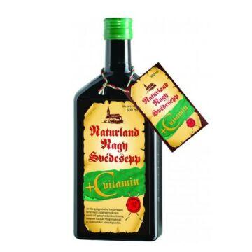 Naturland svédcsepp+c-vitamin 500 ml