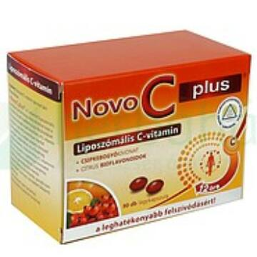 Novo C Plus liposzómális C-vitamin 90db