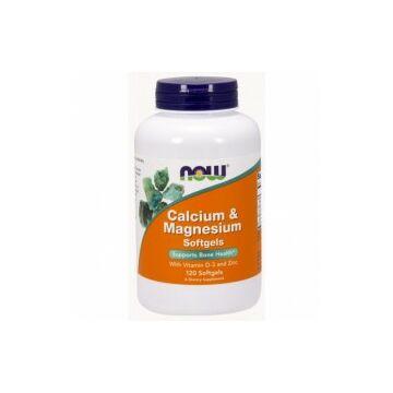 Now Kalcium-Magnezium D-vitaminnal kapszula 120 db
