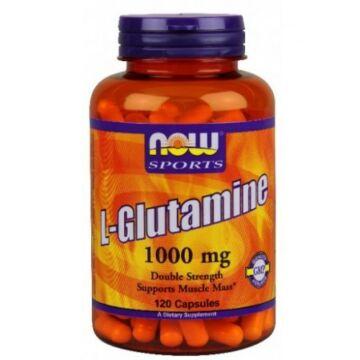 Now l-glutamine kapszula 120 db