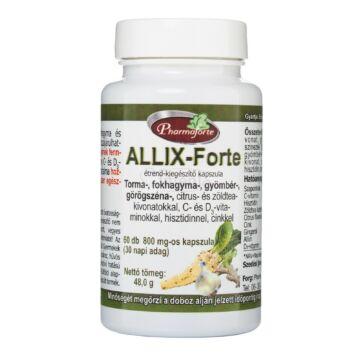 Pharmaforte Allix Forte kapszula 60 db