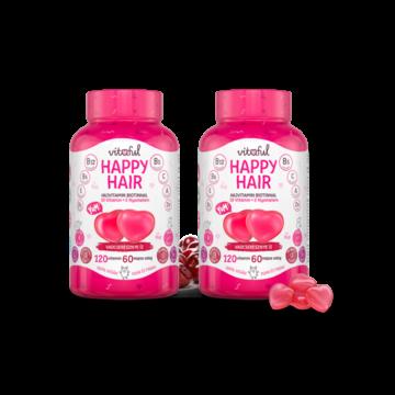 Vitaful Happy Hair hajvitamin gumivitamin 4 havi adag 2x120 db