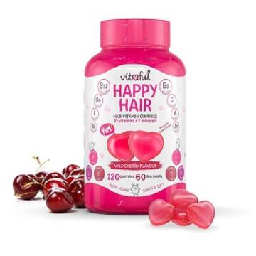 Vitaful Happy Hair hajvitamin gumivitamin 120 db
