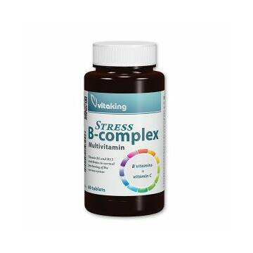 Vitaking Stress B-Complex Multivitamin tabletta 60db