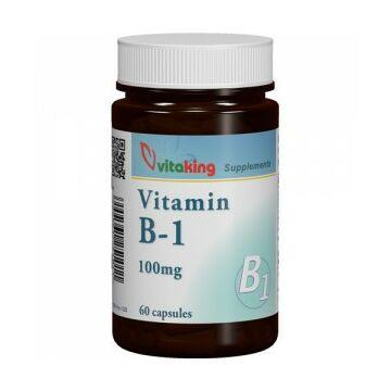 Vitaking B1 Vitamin 100Mg kapszula 60db