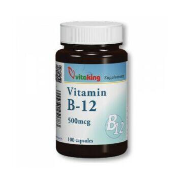 Vitaking B-12 500Mg kapszula 100db