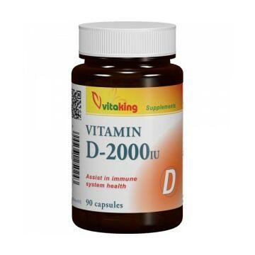 Vitaking D-Vitamin 2000Iu kapszula 90db
