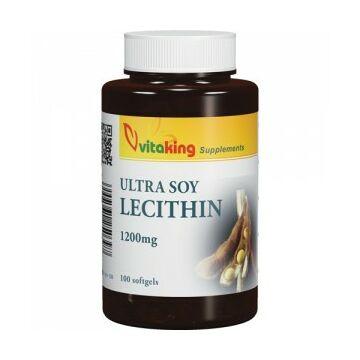 Vitaking Lecitin 1200mg kapszula 100db