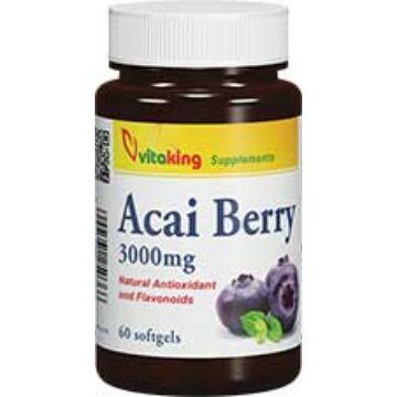 Vitaking Acai Berry kapszula 60db