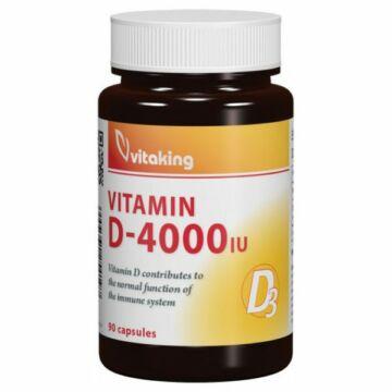 Vitaking D-4000 IU vitamin kapszula 90 db