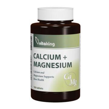 Vitaking Calmag Citrát+D3-Vitamin kapszula 90db