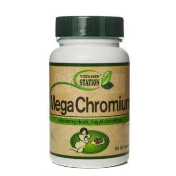 Vitamin Station Mega Chromium kapszula 100db