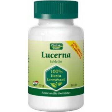 Zöldvér 100%-os lucerna tabletta 150 db