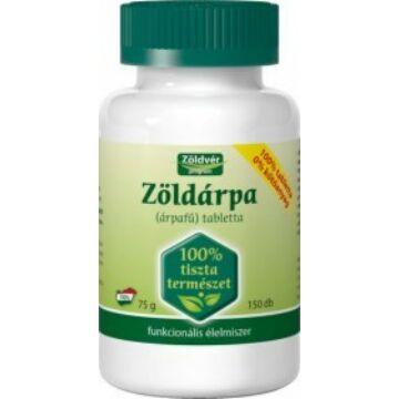 Zöldvér Zöldárpa 100% tabletta 150 db